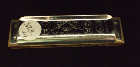 Sonny Terry Estate Harmonica - Marine Band # 323-24  Key of D