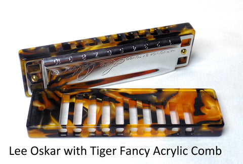Lee Oskar Fancy Acrylic Comb