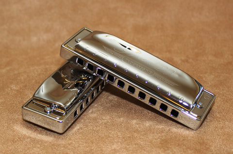 Ready-to-Go Plated Hohner Special 20 Key of D- Chrome Plated Comb & Chrome Plated Covers
