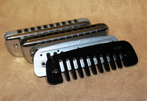 Golden Melody with Aluminum Comb