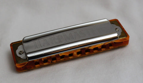 Ready-to-Go HarpMaster in Ab - Citrine Water Acrylic Comb
