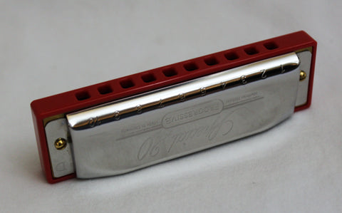 Ready-to-Go Special 20 in D - Hot Red Corian Comb
