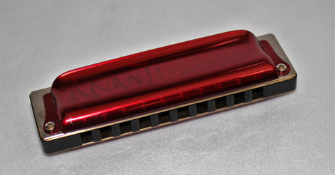 Ready-to-Go Manji in A - Black Paper Resin Comb Candy Red Covers
