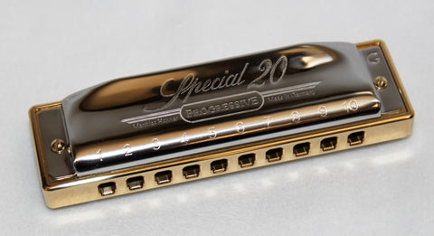 Ready-to-Go Special 20 in G - Brass Comb Stock Covers