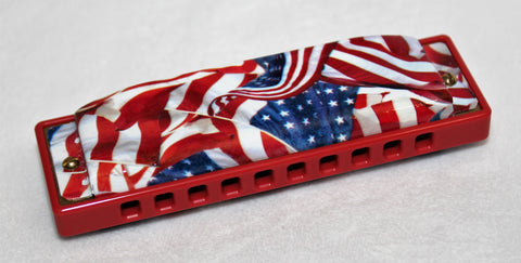 Ready-to-Go Special 20 in G - Red Comb American Flag  Covers