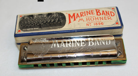 Ready-to-Go Pre-War Marine Band 1896 in C - Nuclear Lime Comb