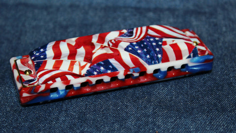 Ready-to-Go Special 20 in A with Patriot  Comb and Old Glory Covers