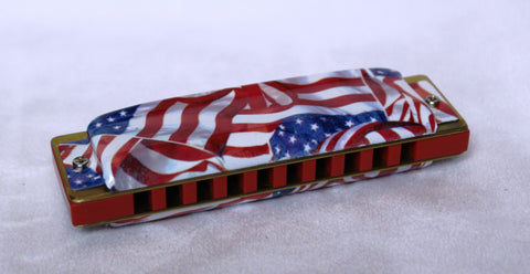 Ready-to-Go Blue Midnight in Bb with Red Comb and Old Glory Covers