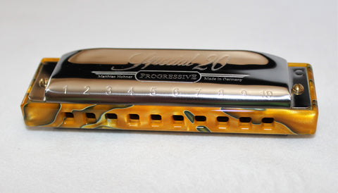 Ready to Go Double Reed Plate Special 20 with Acrylic Comb