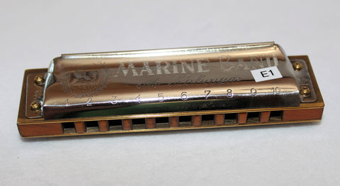 Ready-to-Go Pre-War Marine Band 1896 in E  - Pear Wood Comb