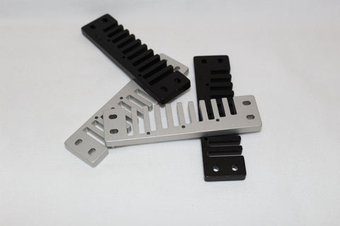 Marine Band Aluminum Combs - Anodized or Plated