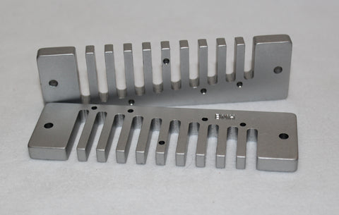 MS-Series Anodized Aluminum Comb