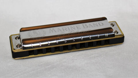 Ready-to-Go  Double Reed Plate Marine Band 1896  with Aluminum Comb