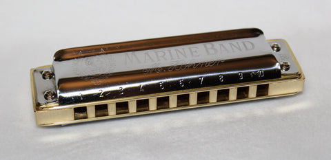 Ready-to-Go Double Reed Plate Marine Band 1896 in Bb  with Brass Comb