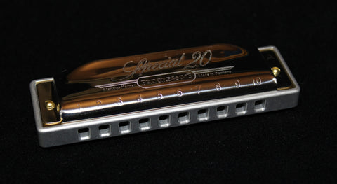 Ready-to-Go Hohner Special 20  with Clear Anodized Aluminum Comb