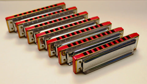 Ready-to-Go Marine Band 1896 with Hot Red Corian Comb