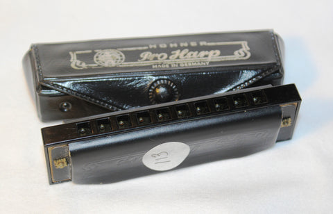 Sonny Terry Estate Harmonica - Hohner Pro Harp - Item # 113 Key of A
