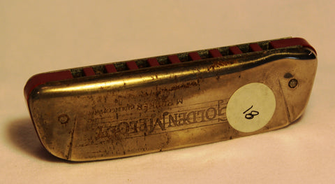 Sonny Terry Estate Harmonica - Golden Melody Item #81  Key of A
