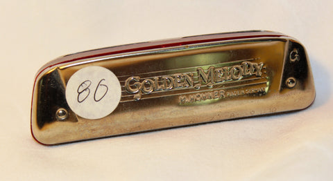 Sonny Terry Estate Harmonica - Golden Melody Item #80  Key of G