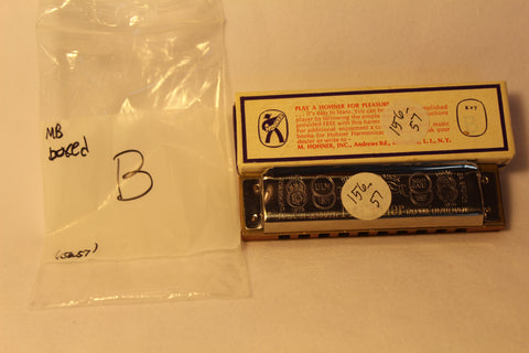 Sonny Terry Estate Harmonica - Marine Band #156-57  Key of B