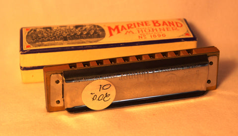 Sonny Terry Estate Harmonica - Marine Band #200-01 Key of G