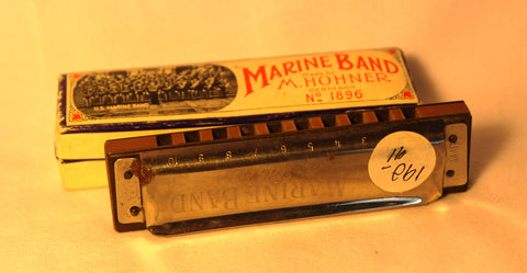 Sonny Terry Estate Harmonica - Marine Band #190-91 Key of Eb