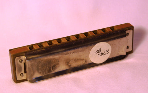 Sonny Terry Estate Harmonica - Marine Band #279-80  Key of B flat