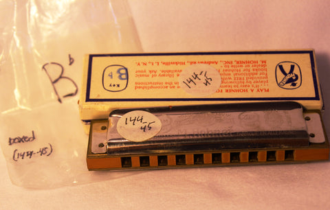 Sonny Terry Estate Harmonica - Marine Band #144-75  Key of Bb