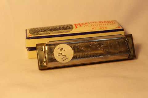Sonny Terry Estate Harmonica - Marine Band #160-61  Key of C