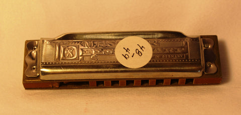 Sonny Terry Estate Harmonica - Hohner Blues Harp #48-49 Key of Db