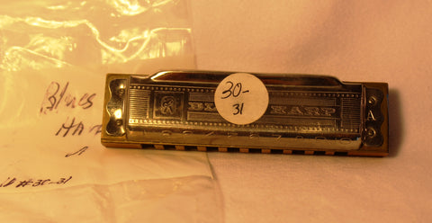 Sonny Terry Estate Harmonica - Hohner Blues Harp #30-31 Key of A