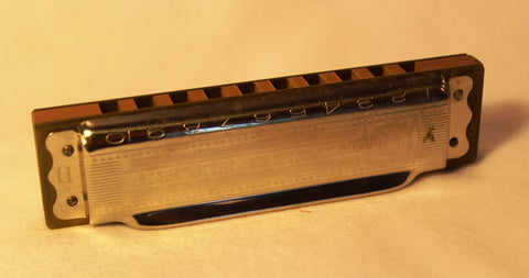 Sonny Terry Estate Harmonica - Hohner Blues Harp #42-43 Key of D