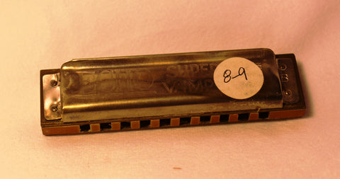 Sonny Terry Estate Harmonica - Echo Super Vamper #7-8  Key of B