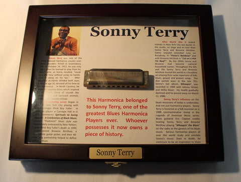 Sonny Terry Estate Harmonica - Marine Band #313-14