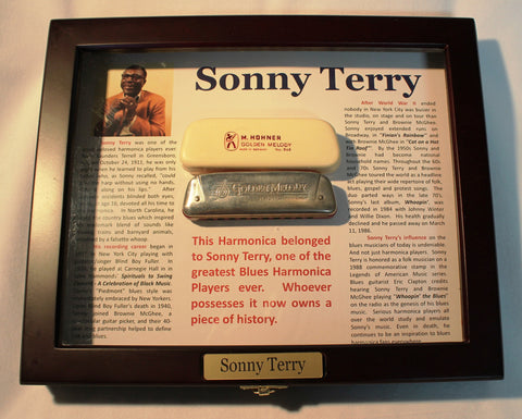 Sonny Terry Estate Harmonica - Golden Melody #57-2