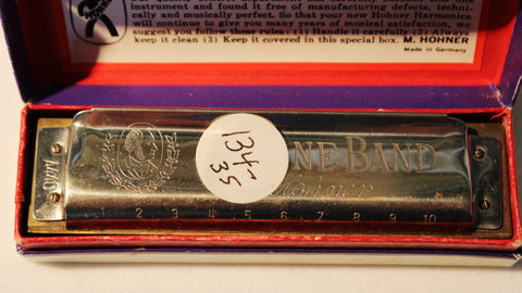 Sonny Terry Estate Harmonica - Marine Band # 134-35