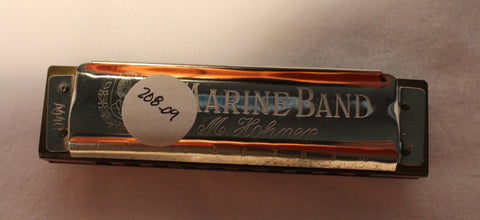 Sonny Terry Estate Harmonica - Marine Band # 208-09