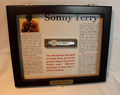 Sonny Terry Estate Harmonica - Marine Band #216-17