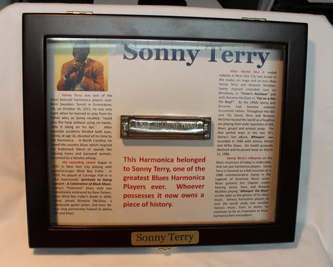 Sonny Terry Estate Harmonica - Marine Band #252-53