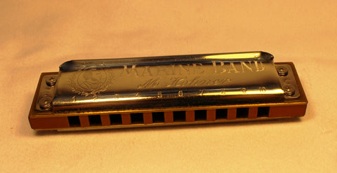 Pre-War Marine Band in C - Pear Wood Comb