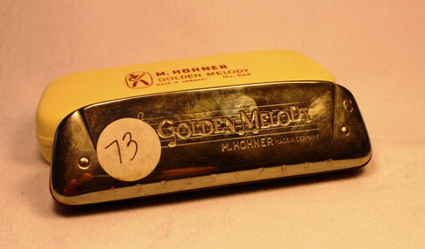 Sonny Terry Estate Harmonica - Golden Melody #73  Key of C