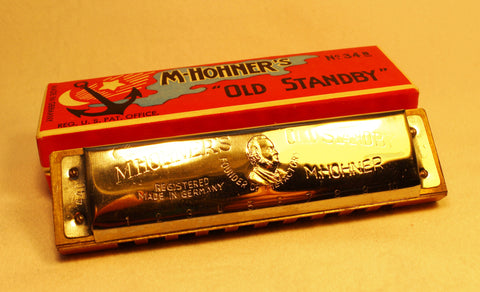 Sonny Terry Estate Harmonica - Old Standby #118-19  Key of C