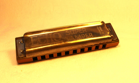 Sonny Terry Estate Harmonica - Echo Super Vamper #6-7  Key of B