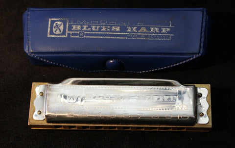 Sonny Terry Estate Harmonica - Blues Harp  # 114  Key of A