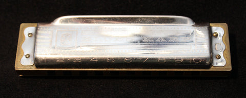 Sonny Terry Estate Harmonica - Hohner Blues Harp -  # 40-41  Key of C