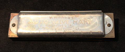 Sonny Terry Estate Harmonica - M. Hohner's Auto-Valve-  # 26-27  Key of G