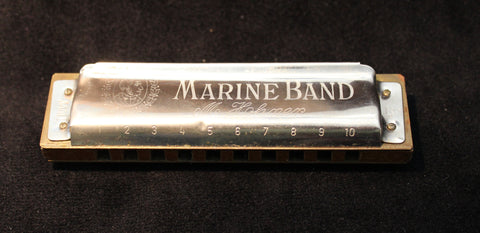 Sonny Terry Estate Harmonica - Marine Band # 295-96  Key of Bb