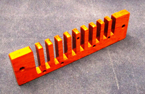 MS-Series Stabilized Wood Comb