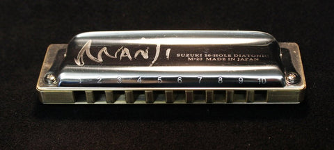 Built to Order Double Reed Plate Manji with Brass Comb
