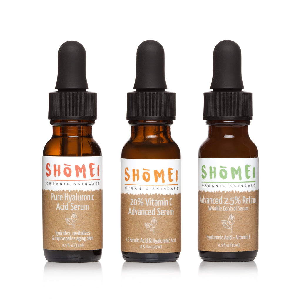 Serum Trio Pack - 0.5oz
